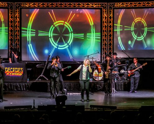 Decades Rewind live band concert