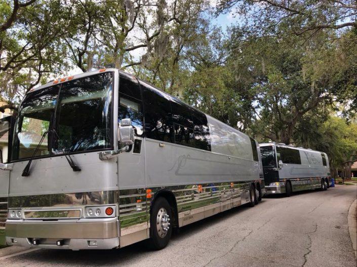 decades rewind live nostalgia music concert buses